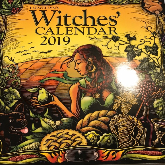 Llewellyn's Witches Calendar 2019